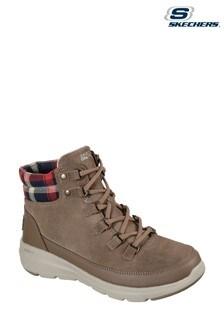 Skechers® Brown Glacial Ultra Peak Boots