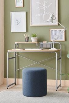 Grey Elliot Compact Desk
