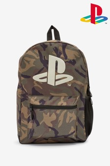 Green PlayStation™ Camouflage Backpack