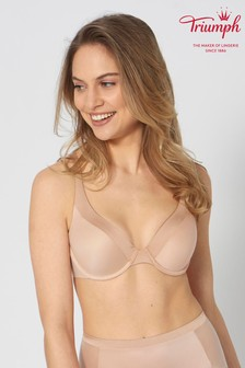 Triumph® Nude Body Make-Up Soft Touch Wired Half-Cup Padded Bra