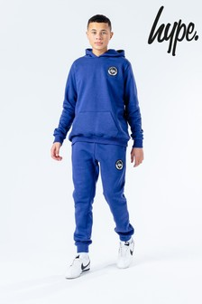 Hype. Navy Crest Kids Hoodie And Joggers Set