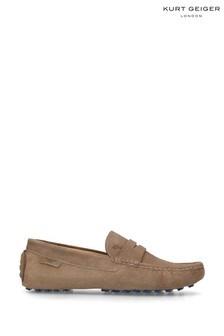 Kurt Geiger London Louis Beige Loafer Shoes