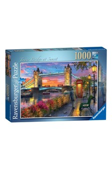 Ravensburger Tower Bridge At Sunset 1000pc Jigsaw Puzzle
