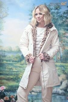 Regatta Kimberley Walsh Edit Cream Rimona Waterproof Jacket