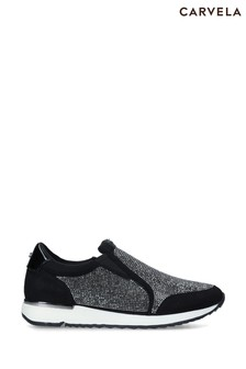 Carvela Black Join Trainers