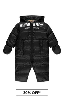 Baby Black Snowsuit