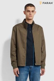 Farah Green Hardy Harrington Jacket