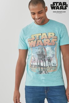 Aqua Star Wars TV And Film Licence T-Shirt