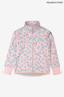 Polarn O Pyret Pink Waterproof Fleece Jacket