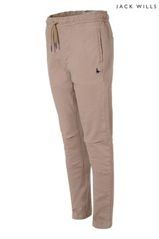 Jack Wills Boys Brown Trousers