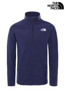 The North Face® Youth Glacier Quarter Zip Fleece
