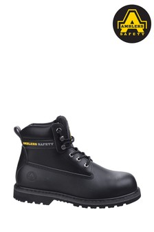 Amblers Safety Black FS9 Goodyear Welted Safety Boots