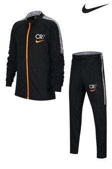 Nike Black CR7 Tracksuit