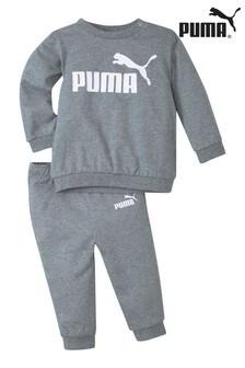 Puma Mini Crew And Joggers Set