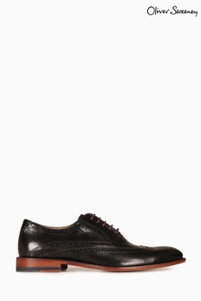Oliver Sweeney Distressed Leather Shoes