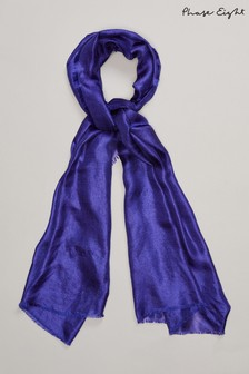 Phase Eight Blue Verity Scarf