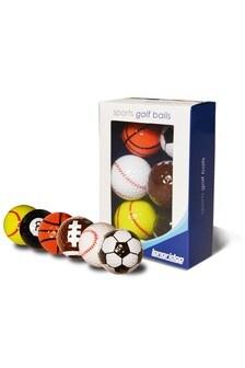 Sports Golf Balls Five Pack
