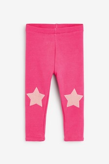 Bright Pink Cosy Leggings (3mths-7yrs)