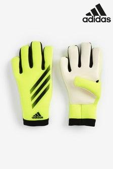 adidas Yellow Kids X Goalkeeper Gloves