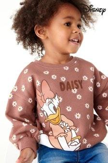 Berry Pink Daisy Duck Sweatshirt (3mths-7yrs)