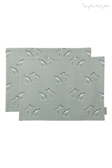 Set of 2 Sophie Allport Coastal Birds Fabric Placemats
