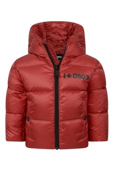 Baby Red Padded Jacket