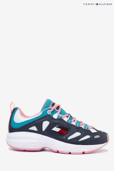 Tommy Hilfiger Blue Heritage Retro Chunky Trainers
