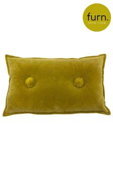 Bobble Velvet Cushion by Furn