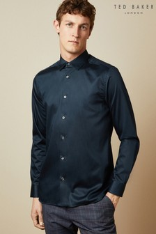 Ted Baker Bobcut Cotton Plain Shirt
