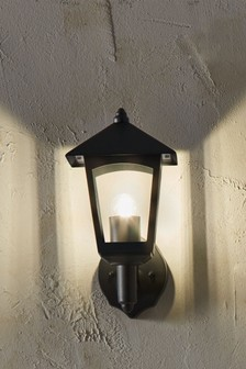 Metal Lantern Wall Light by Pacific