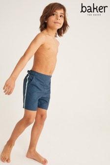 Baker by Ted Baker Navy Swim Shorts