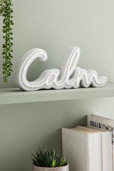 Calm Word Ornament
