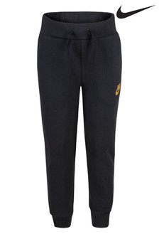 Nike Little Kids Black Metallic Joggers