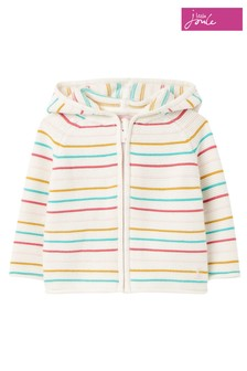Joules Zip Through Knit Cardigan