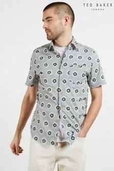 Ted Baker Talant Large Geo Print Shirt