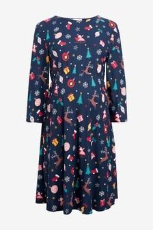 Maternity Novelty Christmas Dress