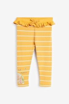 Ochre Rainbow Embroidered Leggings (3mths-7yrs)