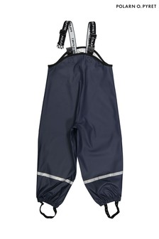 Polarn O. Pyret Blue Waterproof Rain Trousers