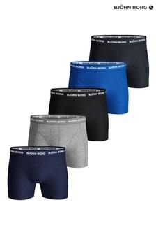 Bjorn Borg Essential Blue Underwear Five Pack