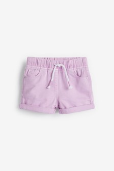Lilac Pull-On Shorts (3mths-7yrs)