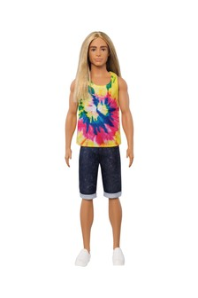 Barbie Ken Fashionista Doll with Long Blonde Hair