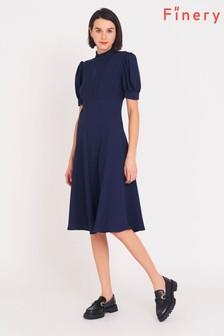 Finery Blue Larisa Dress