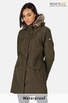 Regatta Green Serleena II Waterproof Jacket