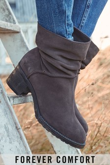 Chocolate Forever Comfort® Slouch Pull-On Boots
