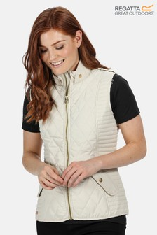 Regatta Cream Carita Quilted Body Warmer