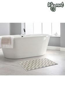 Zig Zag Bath Mat by Dip & Drip
