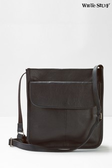 White Stuff Black Issy Pocket Cross-Body Bag