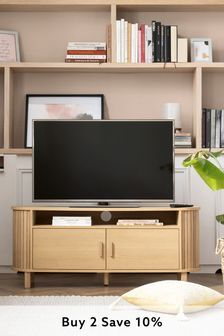 Conway Oak Wide TV Stand