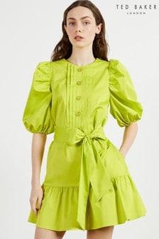 Ted Baker Sofiiia Button Front Mini Dress