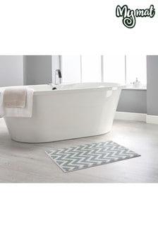 My Mat Zig Zag Bath Mat